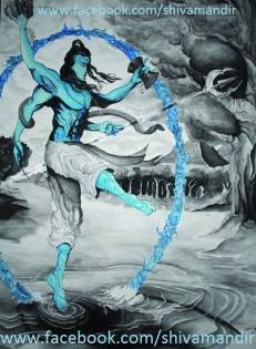 Lord-Shiva-By-Ujan-Dutta-Art 4