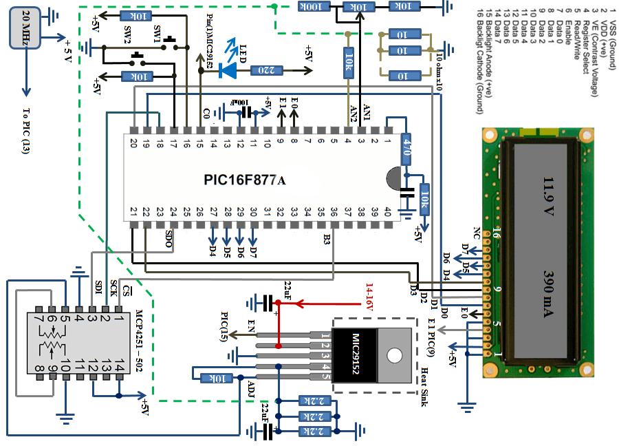 Digital Power Supply Schematic MIC29152