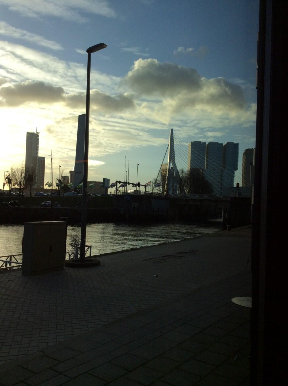 Skyline & Erasmusbrug Rotterdam