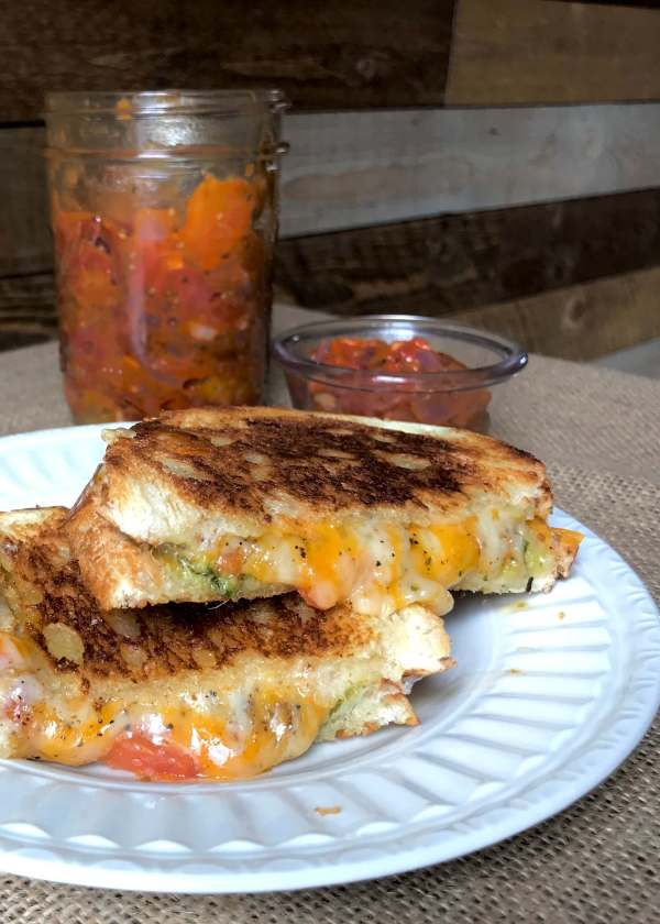 Sofrito Grilled Cheese