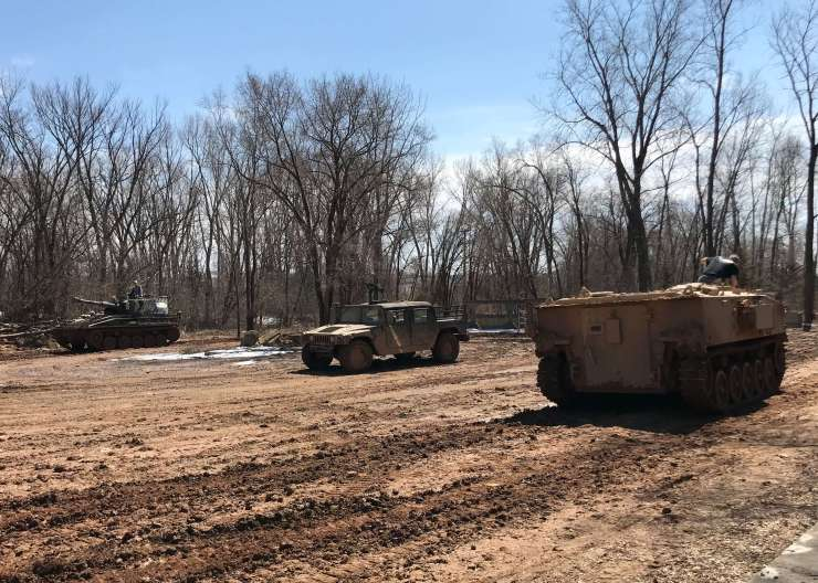 Drive A Tank Kasota Minnesota