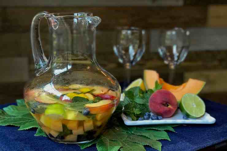 Summer Fruit Sangria