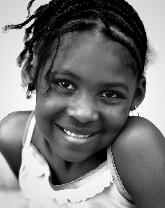 pretty little black girl
