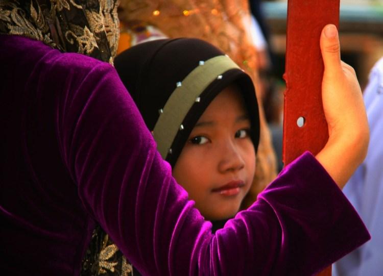 asian muslim child