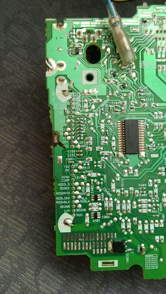 Back of PCB