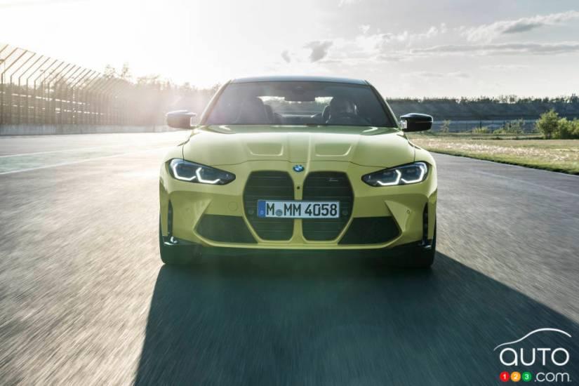 BMW M4 2021, front