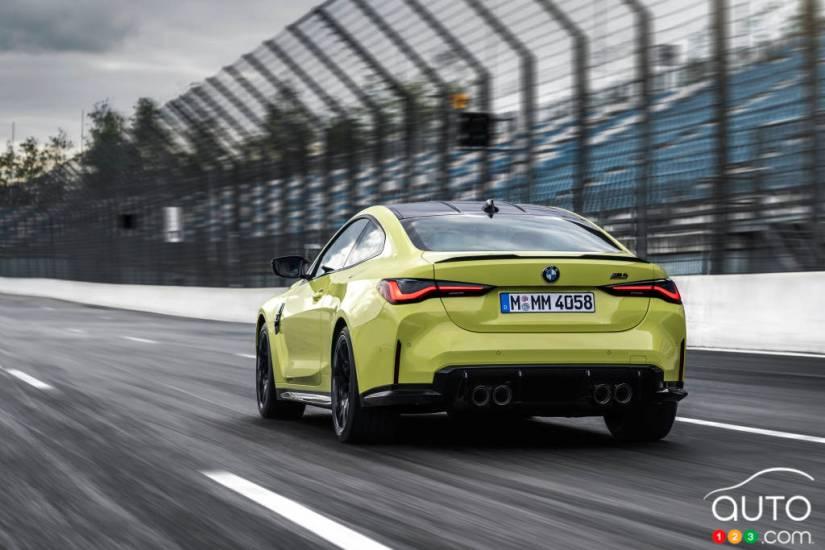 BMW M4 2021, rear