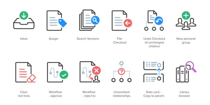 Synergis Custom icons Samples