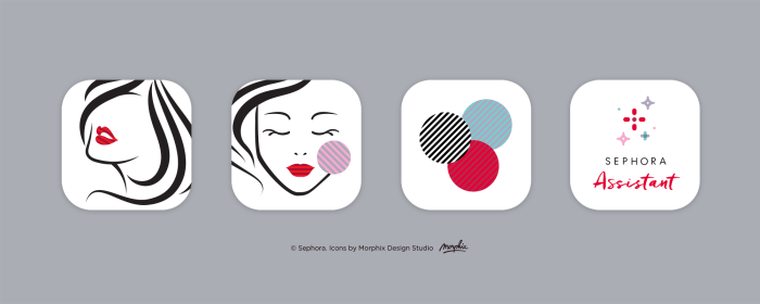 Sephora custom icons by Picons