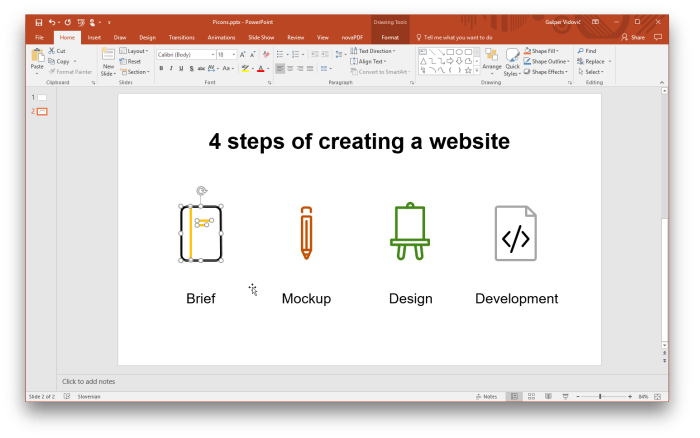 Using vector icons in PowerPoint - Picons Blog