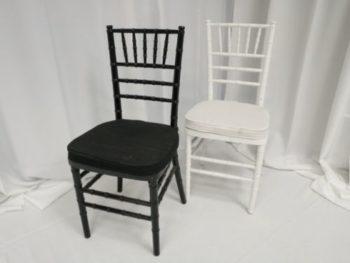 Black White Chiavari Chair Dining Rental In Los