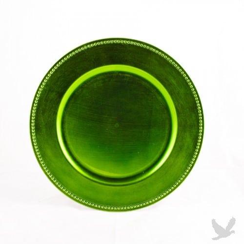 lime-green-charger-platedinnerware-rental-in-los-angeles