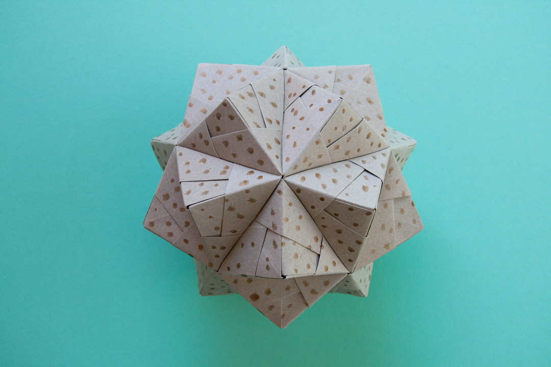 Modular Origami Star, Ring And Sonobe Ball Stock Photo - Image of ... | 720x1080