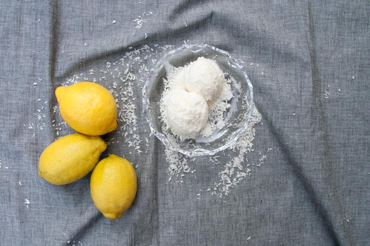 picotee / Zitronen-Kokos-Eis mit Wodka