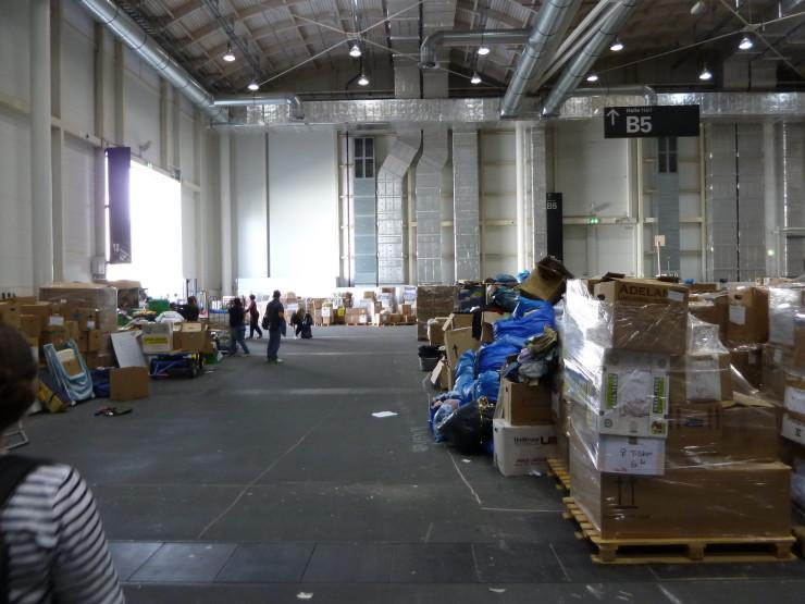 Kleiderkammer Messehalle Hamburg