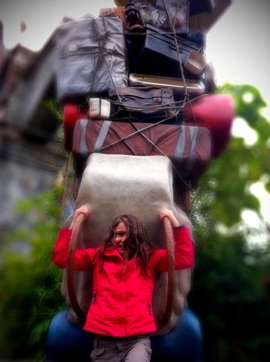 Day 318 – Buzzy takes a heavy load