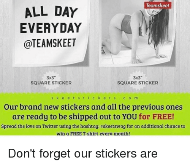 Memes Square And E T Teamskeet Free Stickers Our Brand New Teams Keet