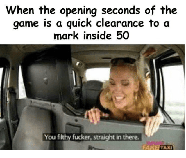 Fake The Game And Game When The Opening Seconds Of The Game Is