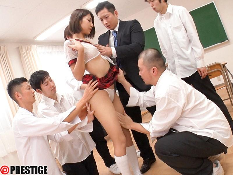 春咲りょう 超!透け透けスケベ学園 CLASS 01 美しい裸身が透き通る、透けフェチ特濃SEX!サンプルイメージ9枚目