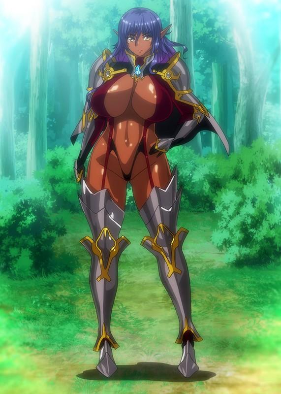 OVAようこそ!スケベエルフの森へ #3 エルフとダークエルフの全面対決! 救世主様と『らぶらぶ子作り対決』◆7
