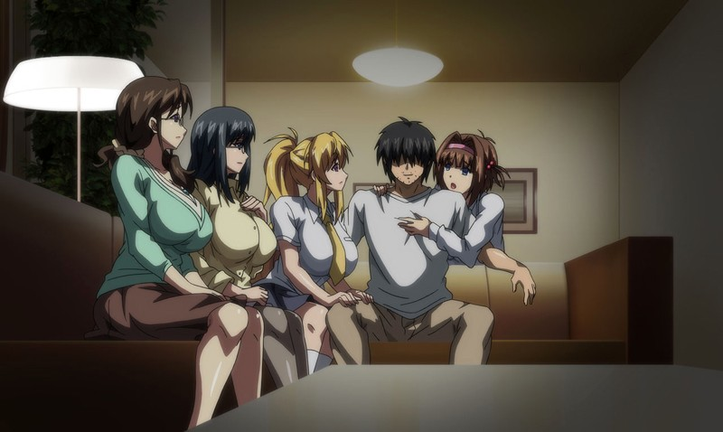 OVA巨乳大家族催眠 #2 町中全ての女を手に入れろ! サンプル画像 (15)