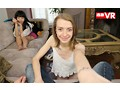 【VR】誰と付き合うか「やってから決めなよ!」 金髪娘と連日お試しラブラブ中出しセックス アメリカ在住の姉の家に遊びに行ったら日本人の彼氏が欲しいスケベな女子大生を紹介されて困った