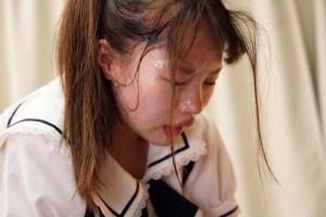 大嫌いな上司の最愛の1人娘を、イラマで喉がばがば奴●にしてやりました。 松本いちか|無料エロ画像13