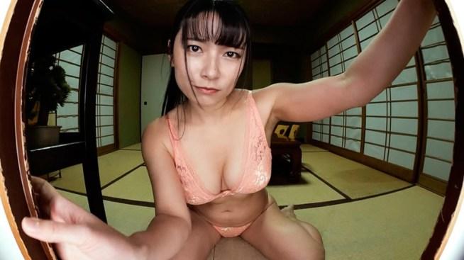 【VR】すきま時間~出張先の旅館でひとりくつろぐ部下を覗き見る~ 春野恵