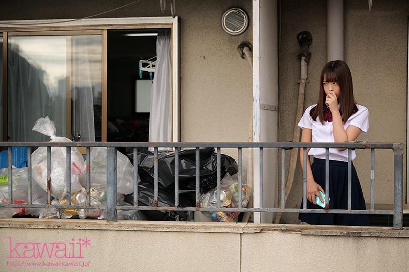 桜もこ 隣人のゴミ部屋で異臭中年おやじに抜かずの連撃中出し46発で孕まされた制服女子の末路…サンプルイメージ3枚目
