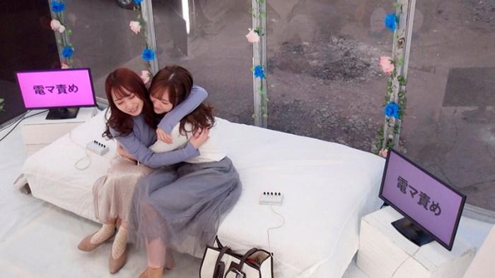 MM号特別編仲良しAV女優2人組が「心を合わせて脱出ゲーム」に挑戦!… のサンプル画像 2枚目