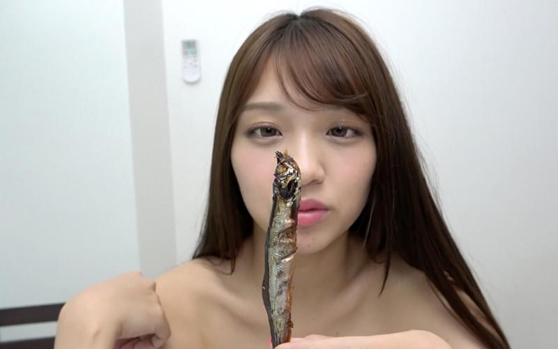 舌ベロフェチ 〜ししゃも舐め&咀嚼〜 木下ひまり1