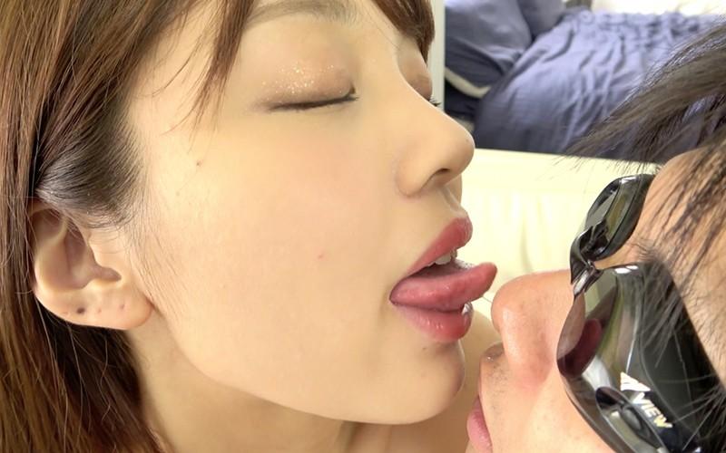 舌ベロプレイ 〜舌ベロ匂い嗅がせ・鼻舐め・鼻フェラ手コキプレイ〜 木下ひまり10