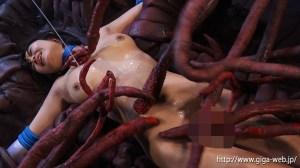 触手十字架地獄 〜セーラーレミウス〜 浅田結梨|無料エロ画像20