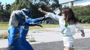 非変身ヒロイン チャージマーメイド 決戦!アナザーワールドの葵七海 北川りこ 無料エロ画像8