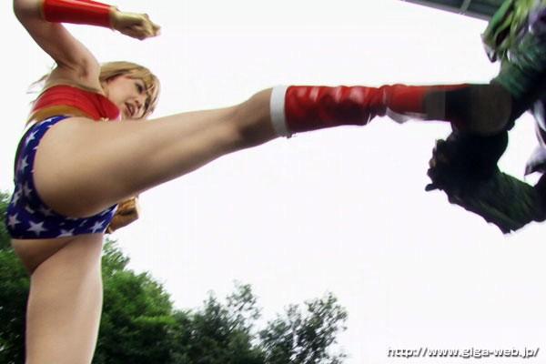 h 173gsad00008jp 9 - SUPER HEROINE アクションウォーズ 鉄腕美女ダイナウーマン あいかわ優衣