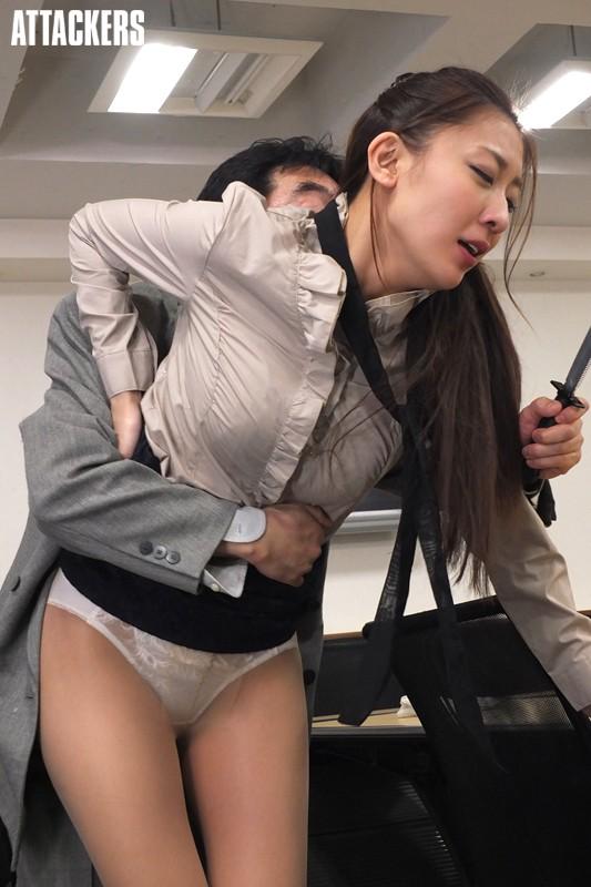 香椎りあ 受付嬢の湿ったパンストサンプルイメージ10枚目