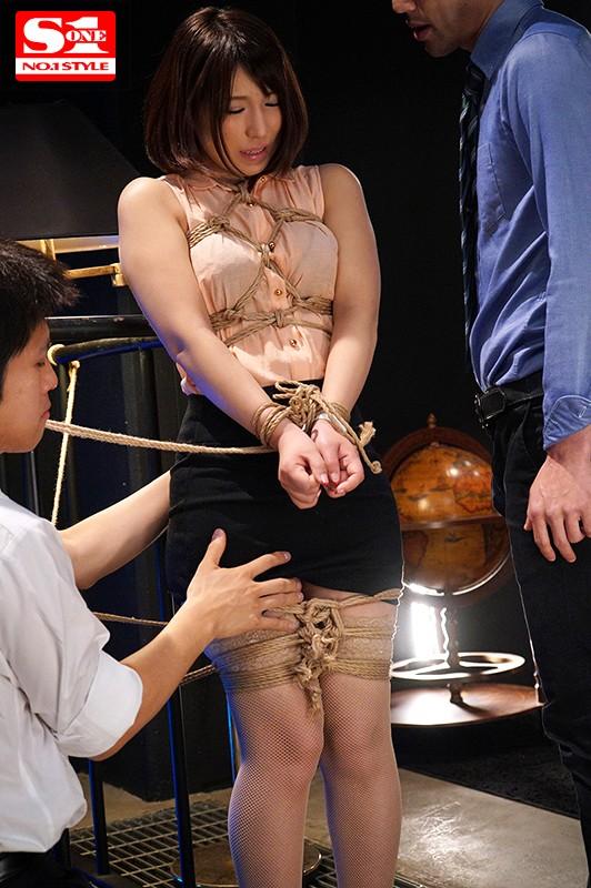 星野ナミ 恥縛 緊縛調教された巨尻タイトスカート女教師サンプルイメージ3枚目