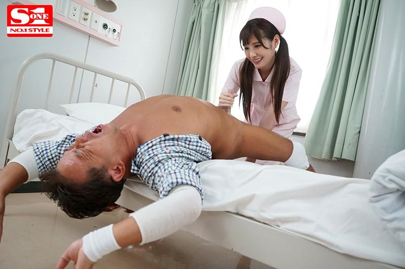 橋本ありな 身動き取れない患者を完全主導でセックス看護するエロ過ぎ世話好き新米ナースサンプルイメージ2枚目