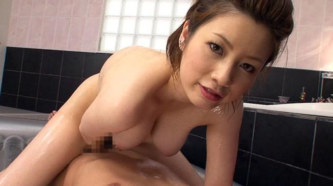 奥田咲がマットプレイSEXで逆にイカされるSEXを見逃すな!