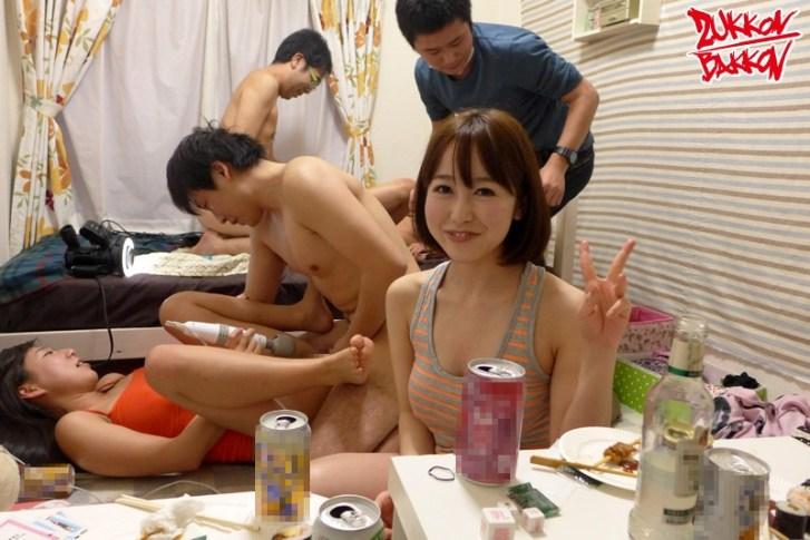 女子大の寮まるごと全員と中出し乱交〜春〜9