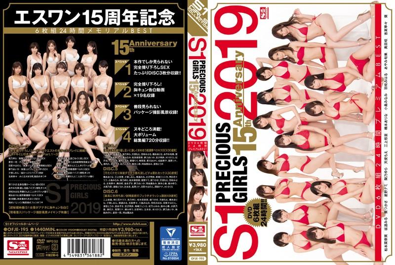 S1 PRECIOUS GIRLS 2019 15th Anniversary DVD6枚組24時間プレミアムBEST