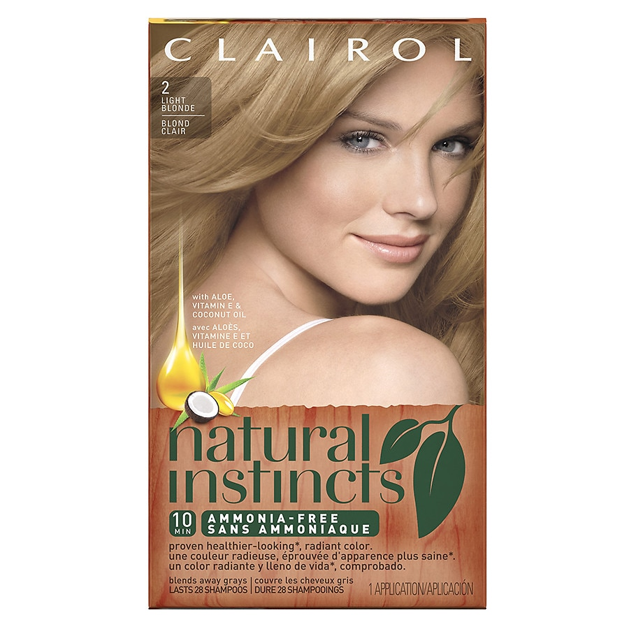 Clairol Natural Instincts Semi Permanent Hair Color2