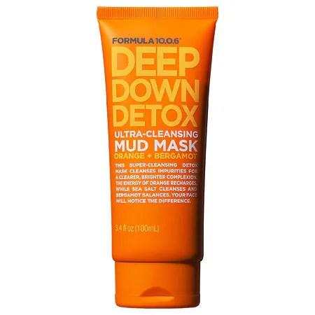 Formula 10.0.6 Deep Down Detox Ultra-Cleansing Mud Mask