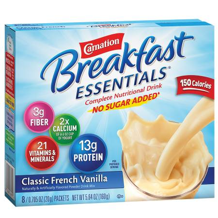 Complete Nutritional Drink, No Sugar Added, Packets Complete Nutritional Drink, No Sugar Added, Packets