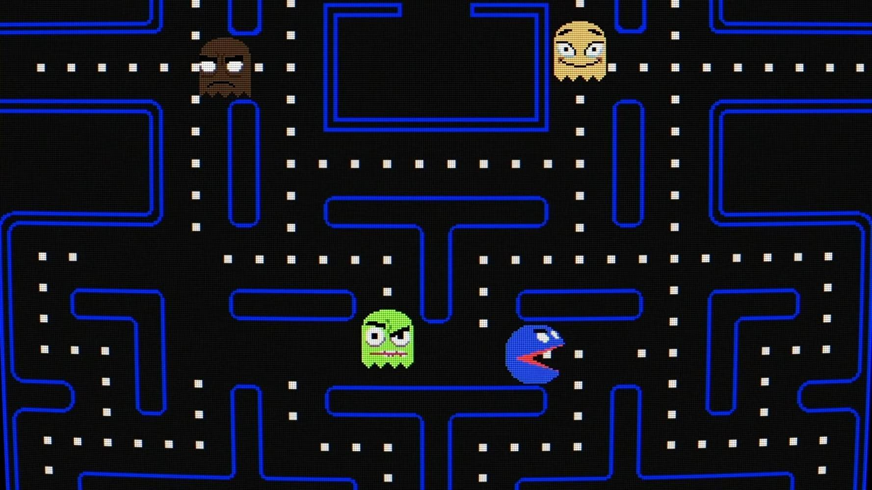 Gorillaz x pacman | fanart. Image Gallery For Gorillaz Feat Schoolboy Q Pac Man Music Video 2020 Filmaffinity