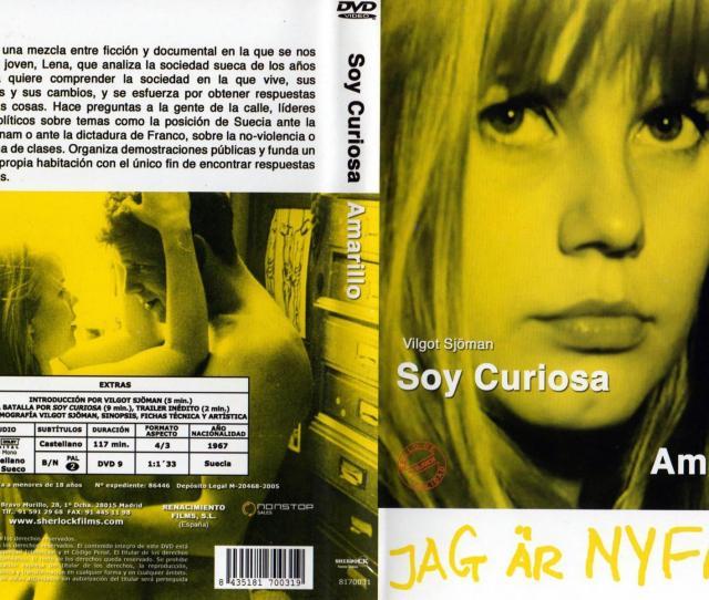 I Am Curious Yellow Dvd
