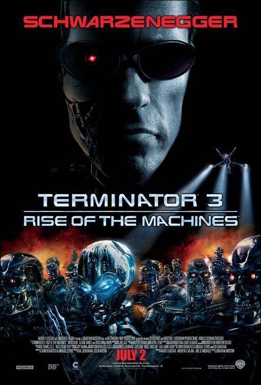 Terminator 3: the raise of machines Book Cover