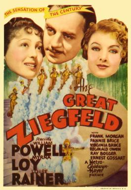 Image result for the great ziegfeld movie