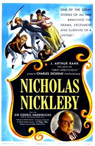 Poster do filme As Aventuras de Nicholas Nickleby