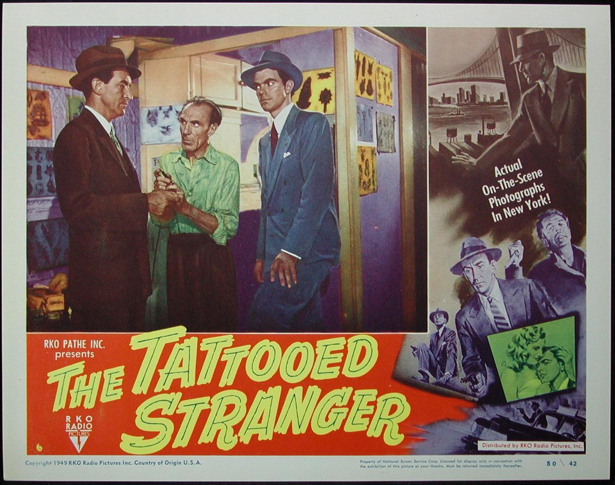 The Tattooed Stranger 1950 Review